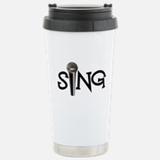 Sing with Microphone Travel Mug