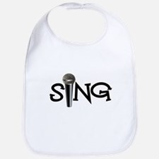 Sing with Microphone Bib