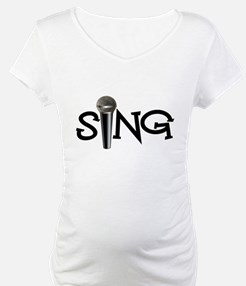 Sing with Microphone Shirt