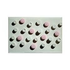 Ecstasy tablets - Rectangle Magnet (10 pk)