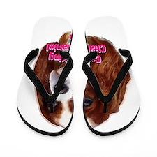 Cavalier King Charles Spaniel Flip Flops