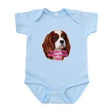 Cavalier King Charles Spaniel Infant Bodysuit