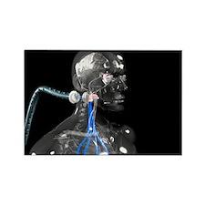 Cyborg - Rectangle Magnet (10 pk)