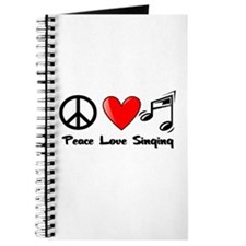 Peace, Love, Singing Journal