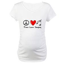 Peace, Love, Singing Shirt
