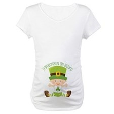 Leprechaun St Patricks Maternity Shirt
