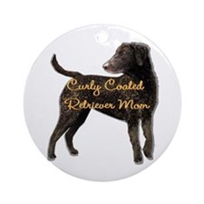 Curly Coated Retriever Ornament (Round)