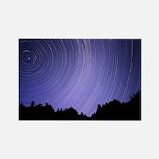 Star trails - Rectangle Magnet (10 pk)