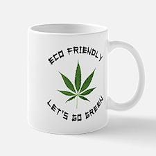 Eco Friendly Let's Go Green Mug
