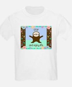 Happy And Cute Sloth T-Shirt