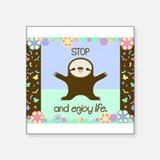 Happy And Cute Sloth Sticker