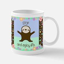 Happy And Cute Sloth Mug