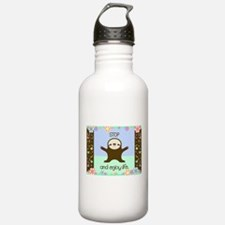 Happy And Cute Sloth Water Bottle