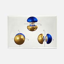 5p electron orbitals - Rectangle Magnet (10 pk)