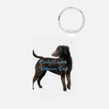 Curly Coated Retriever Keychains