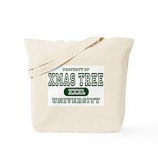 Xmas Tree University Tote Bag
