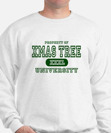 Xmas Tree University Sweatshirt