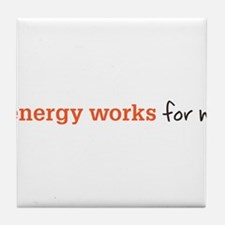 Zenergy Works Tile Coaster