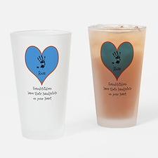 handprints on your heart - 1 grandchild Drinking G