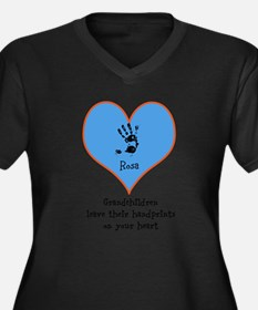handprints on your heart - 1 grandchild Plus Size