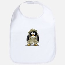 Safari Penguin Bib