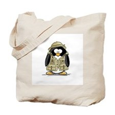 Safari Penguin Tote Bag