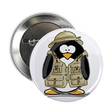 "Safari Penguin 2.25"" Button (100 pack)"