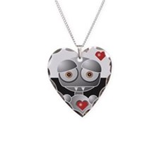 Why My Love Life Sucks Robot Necklace