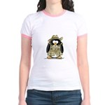 Jungle Safari Penguin Jr. Ringer T-Shirt