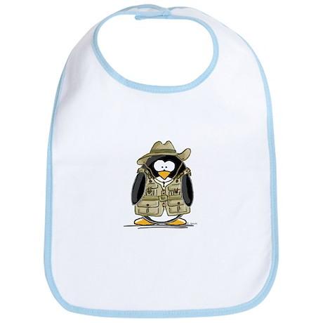Jungle Safari Penguin Bib
