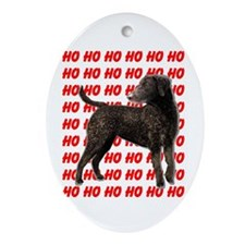 Curly Coated Retriever Ornament (Oval)