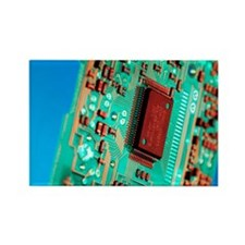 Silicon chip - Rectangle Magnet (10 pk)