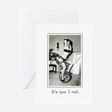 Eunice Rolls Greeting Cards (Pk of 10)