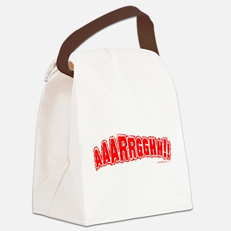 AAARGH Canvas Lunch Bag
