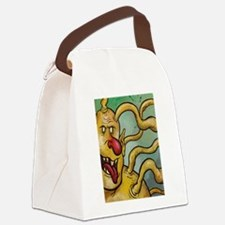 YELLOW GUY #1 Canvas Lunch Bag