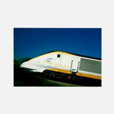 nel Tunnel train - Rectangle Magnet (10 pk)