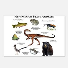 New Mexico State Animals Postcards (Package of 8)