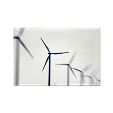 Wind turbines - Rectangle Magnet (10 pk)