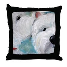 WESTIE DOG Throw Pillow