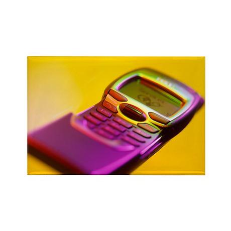 WAP mobile telephone - Rectangle Magnet (10 pk)