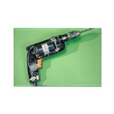 electric drill - Rectangle Magnet (10 pk)