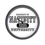 Nativity University Wall Clock