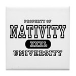 Nativity University Tile Coaster