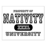 Nativity University Small Poster