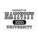 Nativity University Mini Poster Print