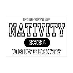 Nativity University Posters