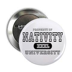 Nativity University Button