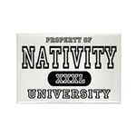 Nativity University Rectangle Magnet (10 pack)