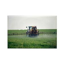 Crop spraying - Rectangle Magnet (100 pk)