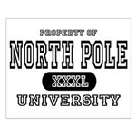 North Pole University Small Poster